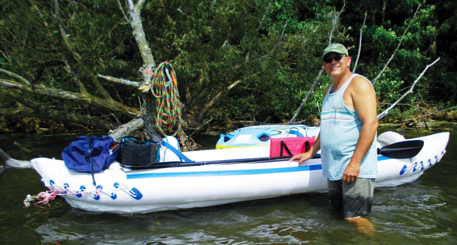 sea eagle 370 inflatable kayak capacity
