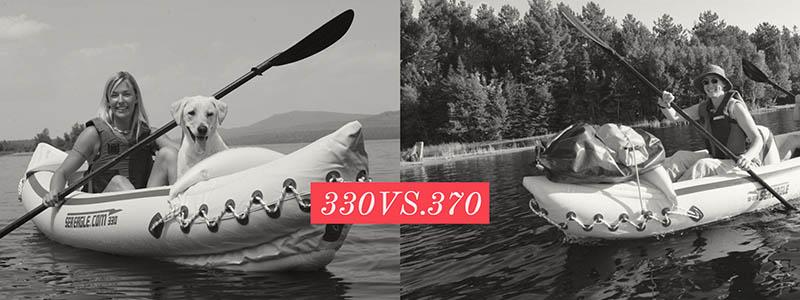 Sea Eagle 330 vs. 370