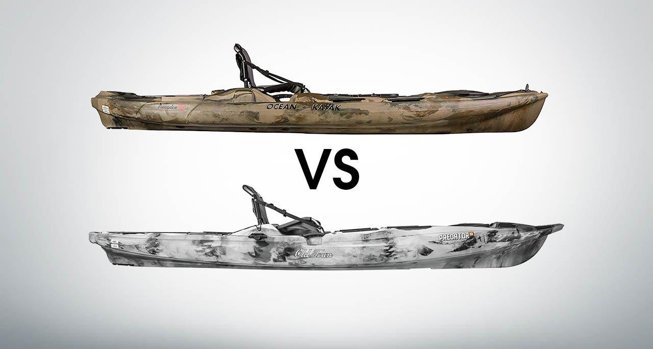 ocean kayak big game 2 vs old town predator