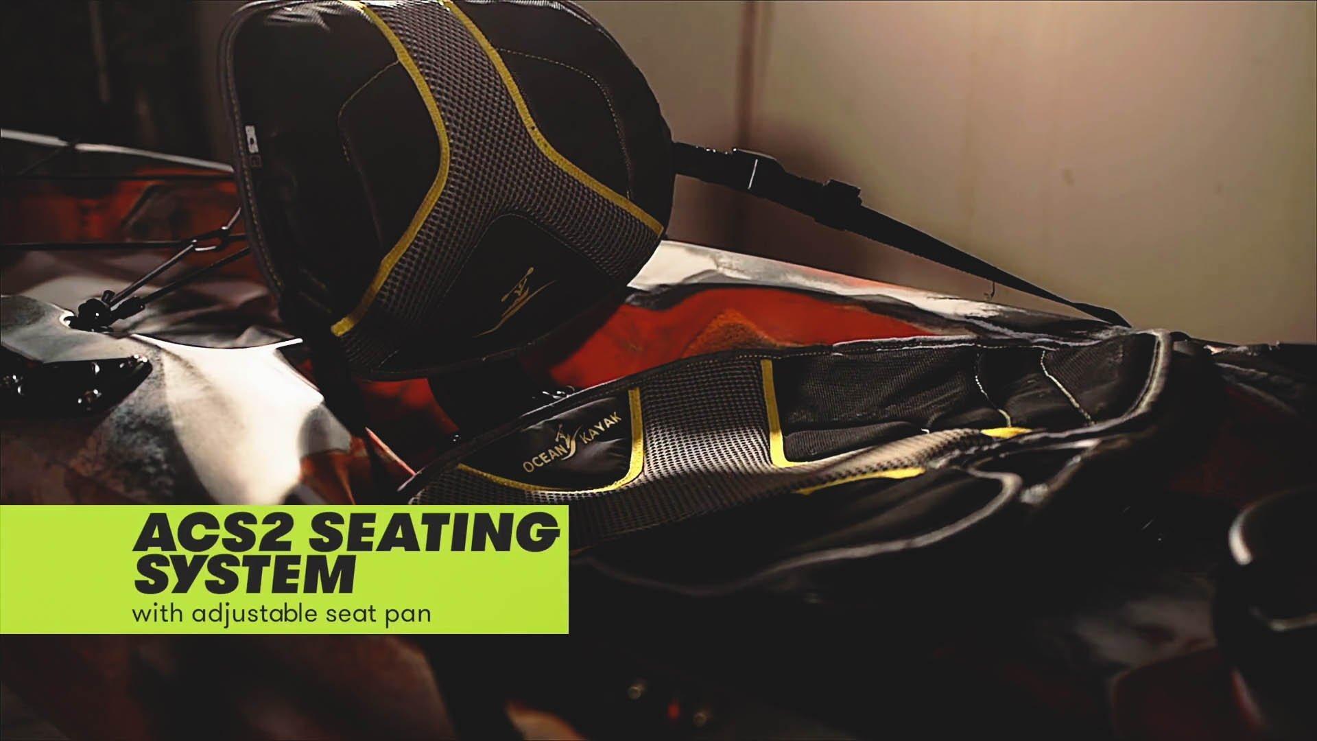 ocean kayak trident 13 seating