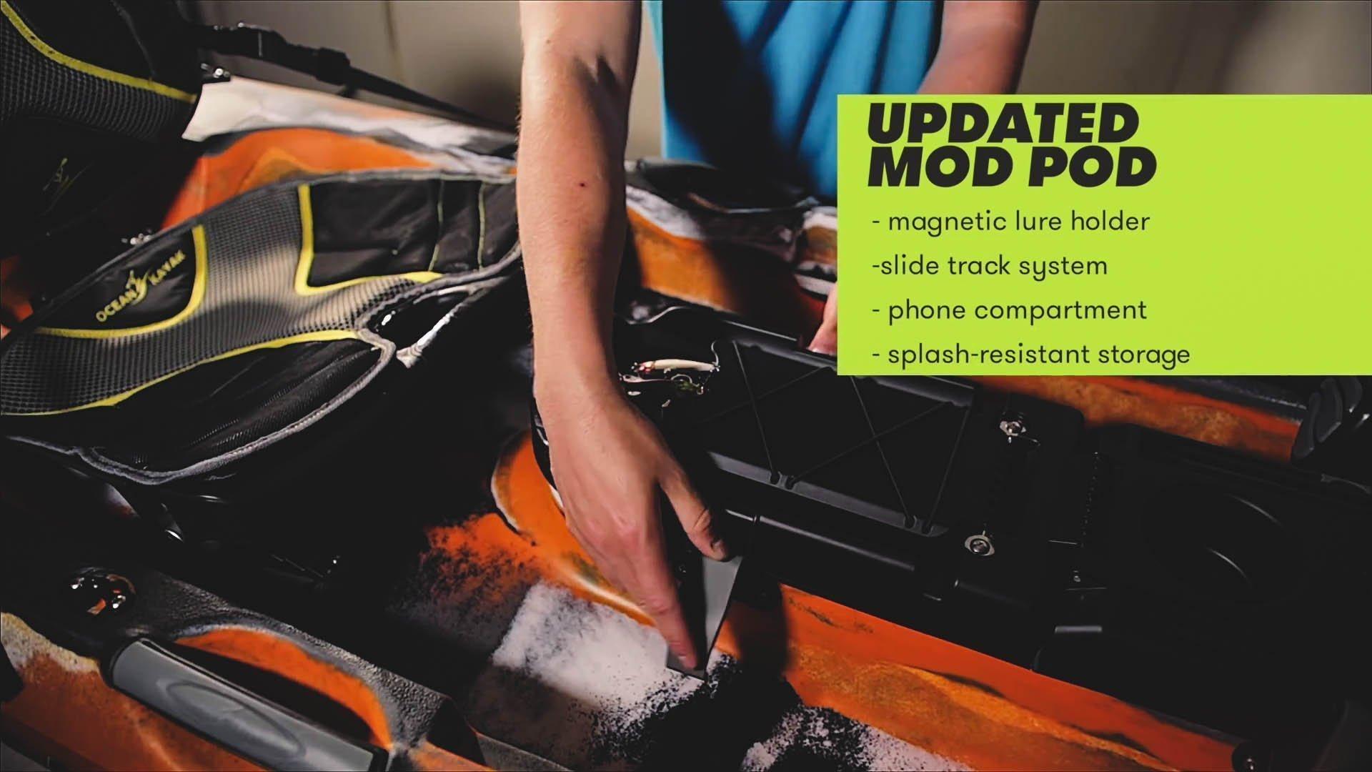 updated mod pod of ocean kayak trident 13 angler
