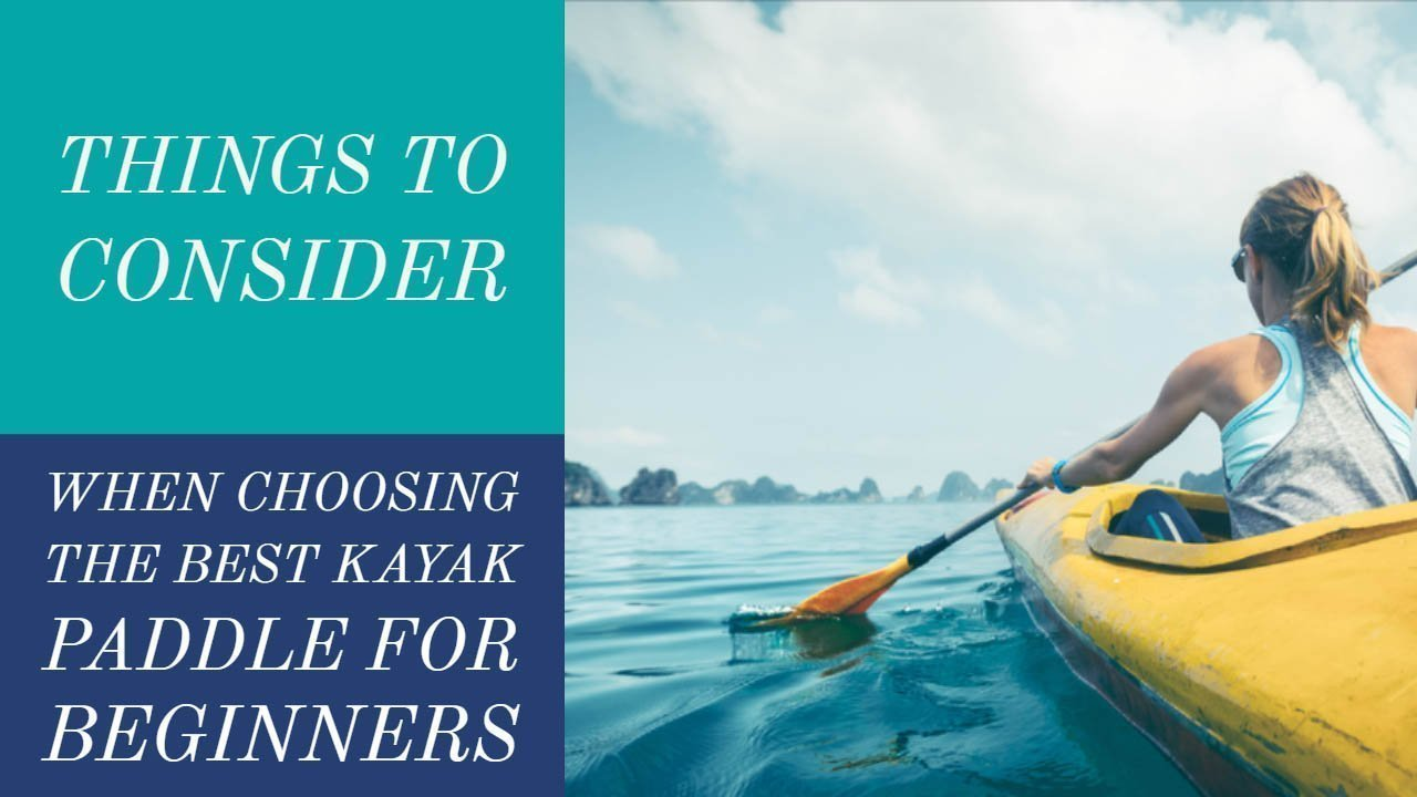 Choosing the Best Kayak Paddle for Beginners