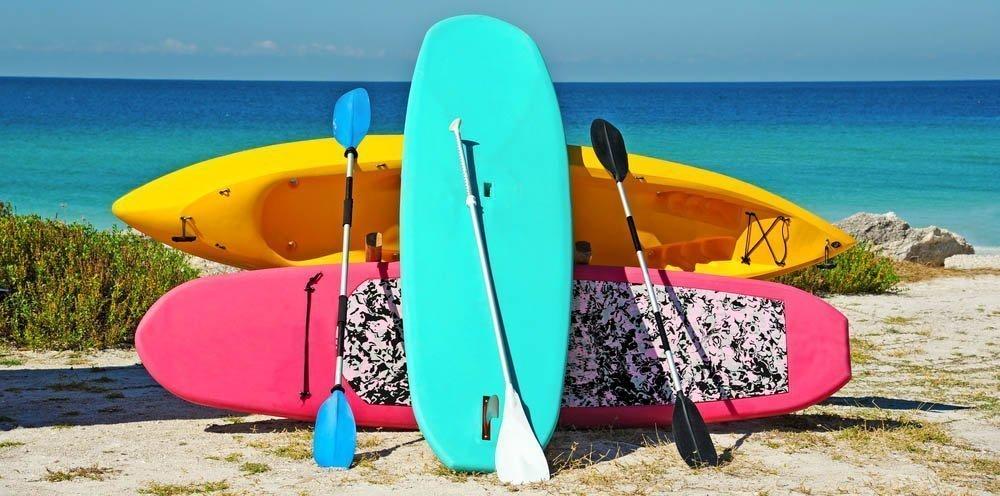 Kayak Paddle Types