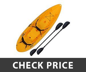 5 - Lifetime 10 Foot Tandem Sit on Kayak