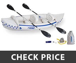 10 - Sea Eagle 330 Inflatable Kayak