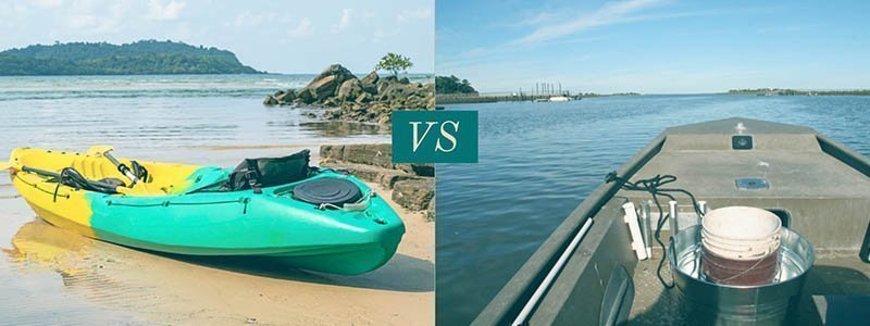 Kayak vs Jon Boat