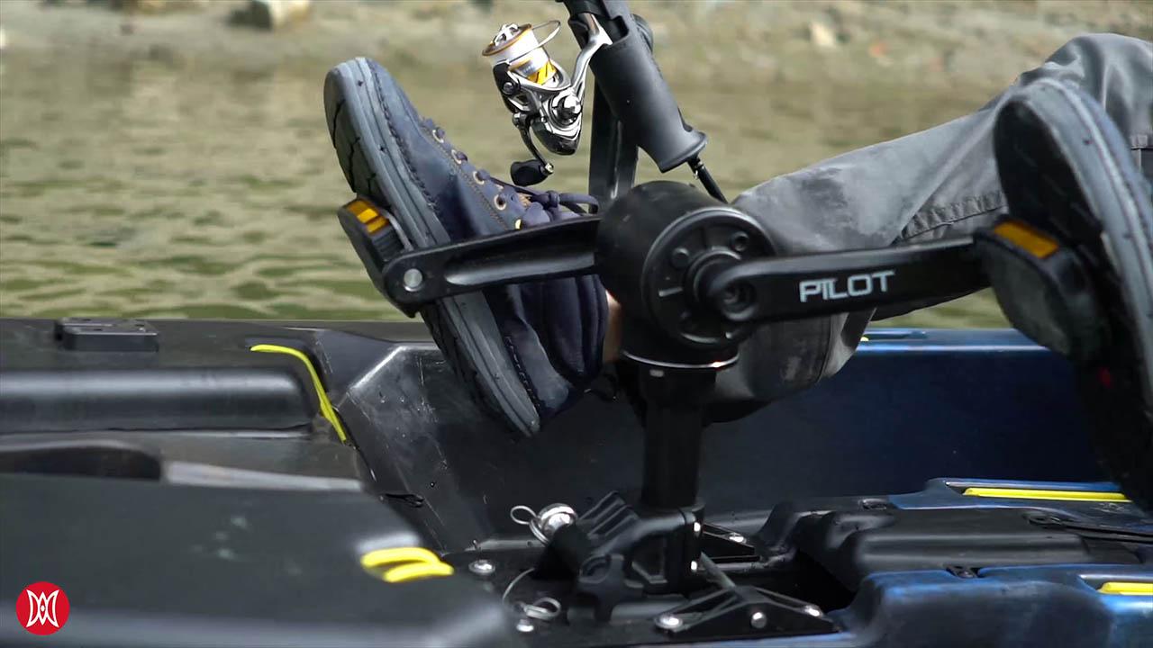 Pescador Pilot 12 Pedal System