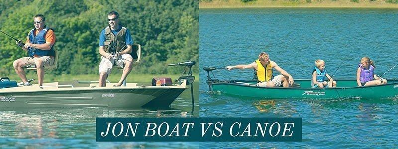 Jon Boat vs Canoe