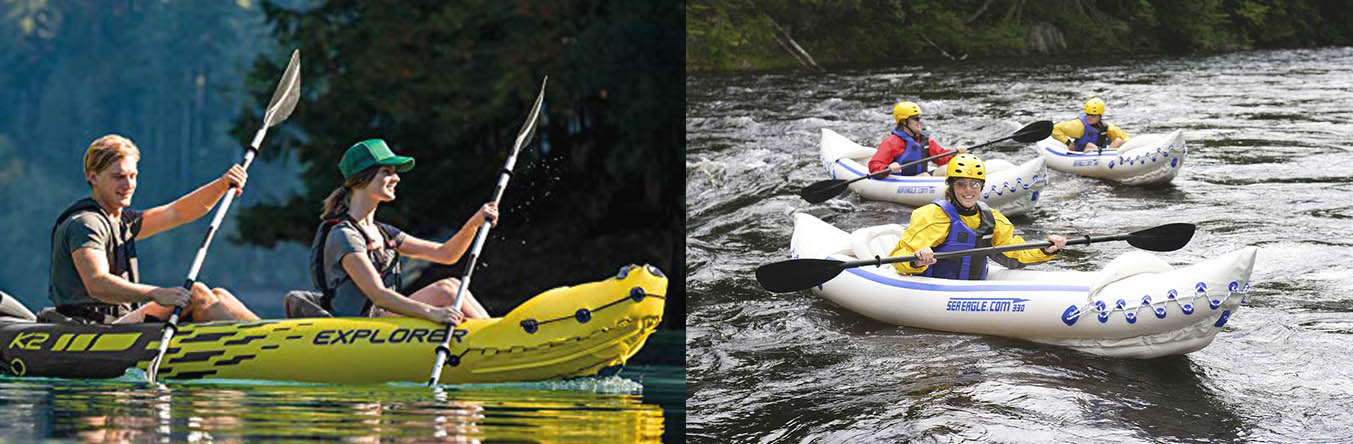 intex explorer k2 kayak vs sea eagle 330