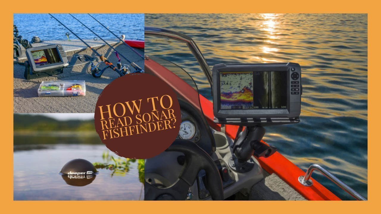 How to read sonar fishfinder