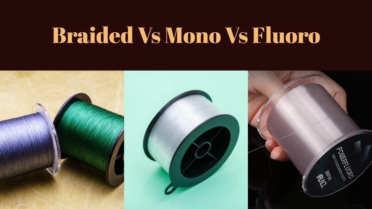 Braided Vs Mono Vs Fluorocarbon