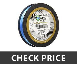 6 - PowerPro Super 8 Slick Braided Fishing Line