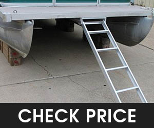 3 - Recpro Extra Long Pontoon Boat Ladder