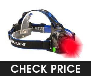 GaiGaiMall Red LED Headlamp