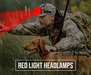 Red Light Headlamps