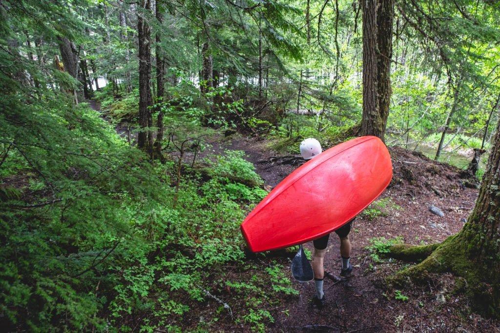 bottom of kayak hull