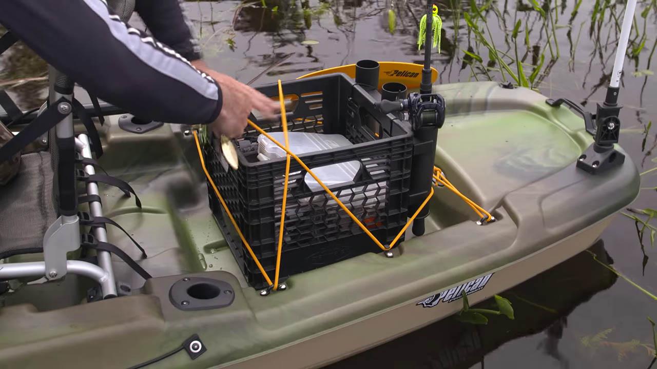 Catch 120 Kayak Storage
