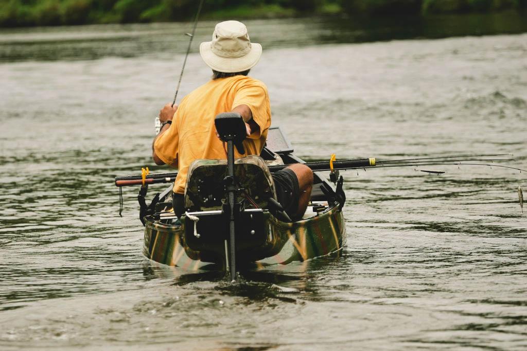 trolling motor transform mount on a boat