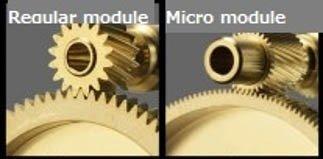 micro-module gearing