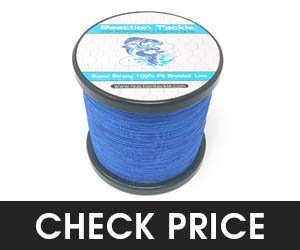 Reaction Tackle Performmace Braided Fishing Line
