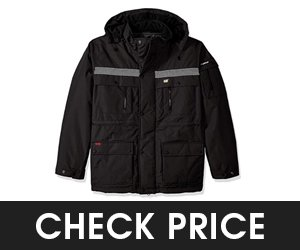 Caterpillar Mens Heavy Insulated Parka Raincoats