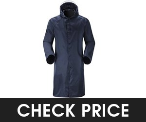 Cheering Mens Waterproof Emergency Raincoat