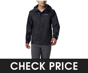Columbia Mens Watertight Breathable Jacket Style Raincoat