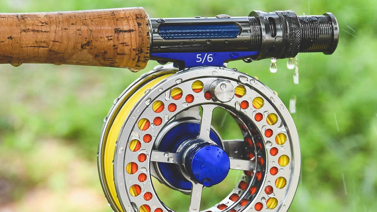fly reels arbor size