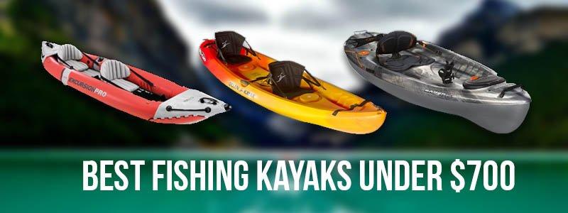 Best Fishing Kayaks Under $700