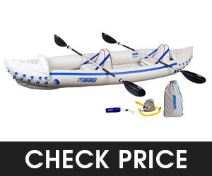Sea Eagle 370 Pro Inflatable Fishing Kayak