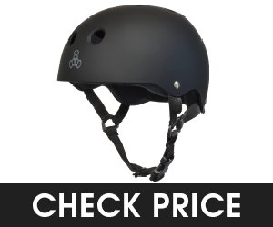 Triple Eight Rubber Multi Impact Skateboard Helmet