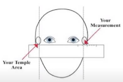 measurement for sunglasses